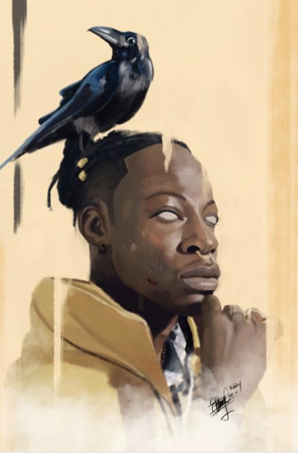 Art by Samuel Blankson | Joey Bada$$ Portrait