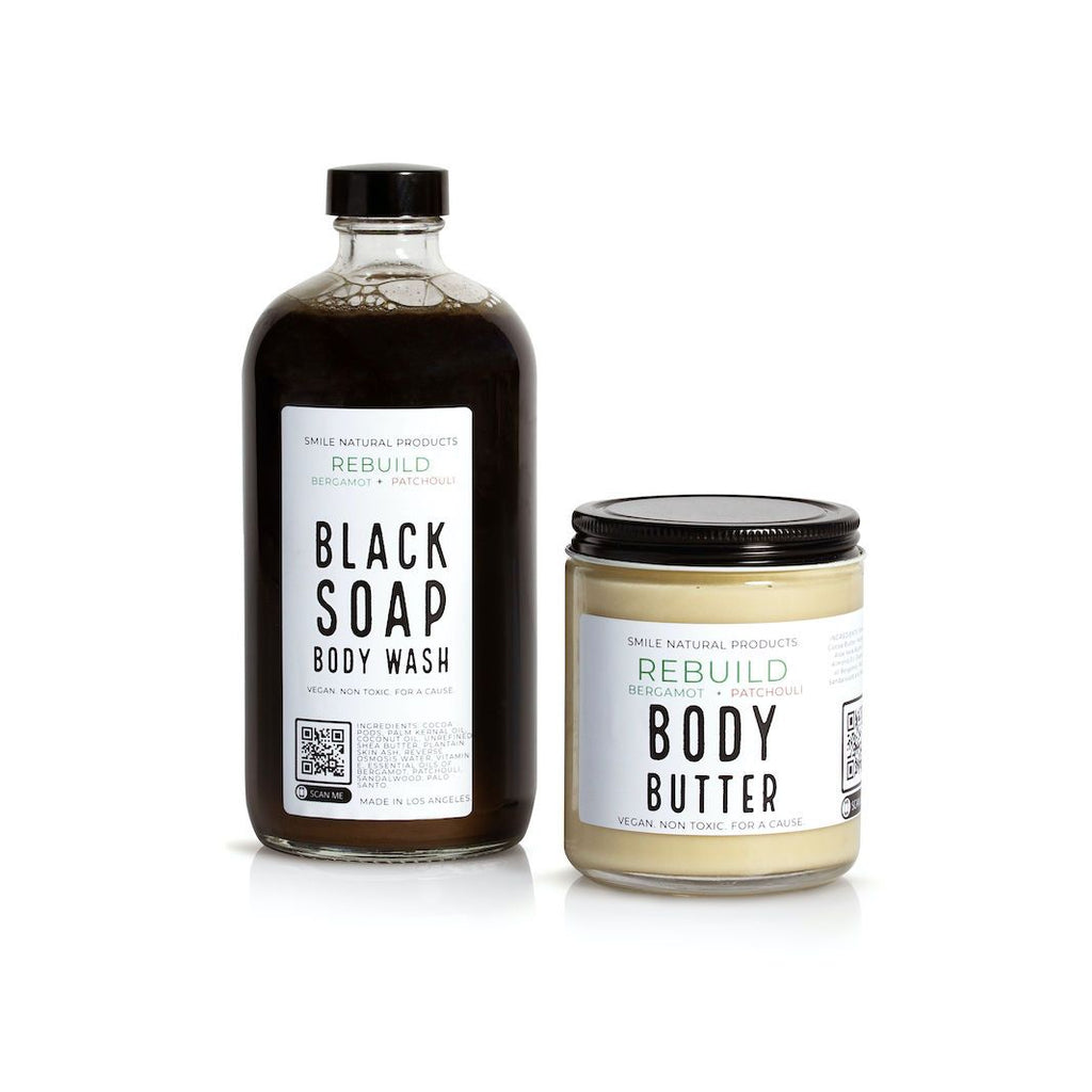 Rebuild Body Duo Body Care Smile Natural Products