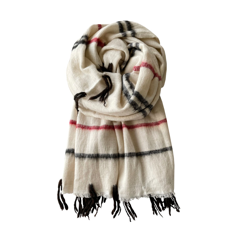 Denis-Colomb-Lifestyle - Cashmere-Cotton-Dolpo-Naga-Shawl