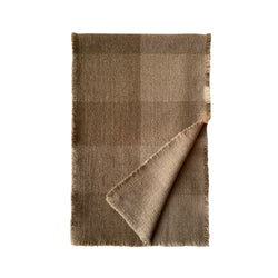 Denis-Colomb-Lifestyle - Cashmere - Four-Sided-Fringe-Plaid-Scarf