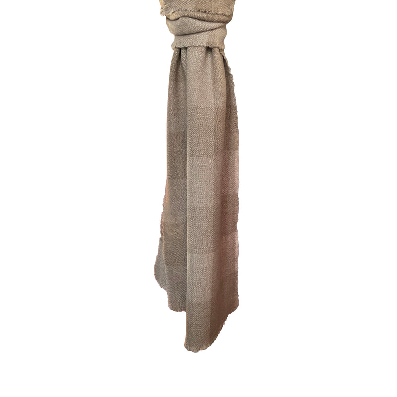 Denis-Colomb-Lifestyle - Four-Sided-Fringe-Plaid-Scarf