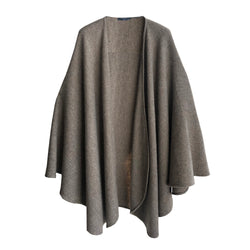Denis Colomb Lifestyle - Natural Grey Yak Joe Cape