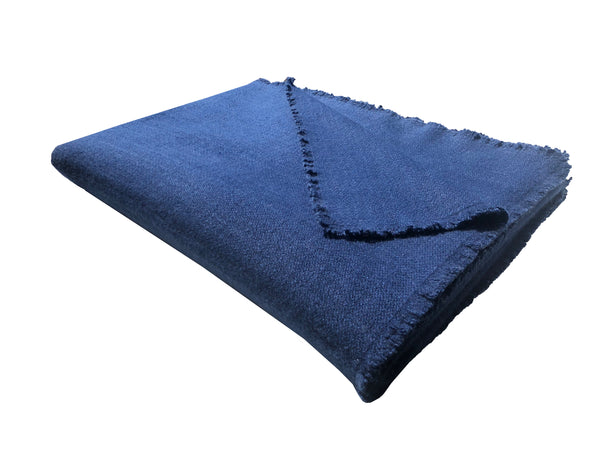 Four Sided Fringe Throw - denis-colomb-lifestyle