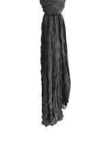 Froisse Silk Solid 100 Silk Black Hang