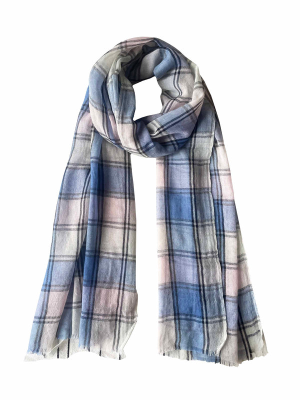 Denis-Colomb-Lifestyle - Cashmere-Hendrix-Plaid-Stole