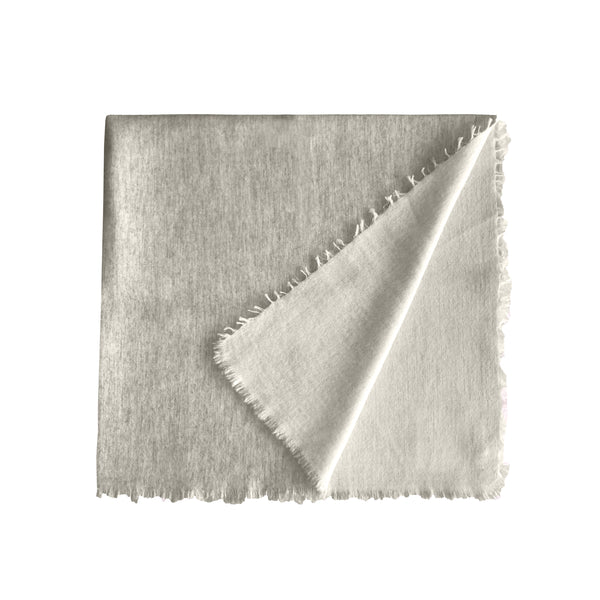 Denis Colomb Lifestyle - Light Grey Cashmere Baby Blanket