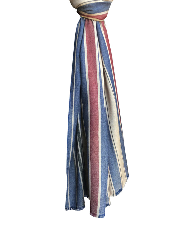 Kirat Stripes Shawl - denis-colomb-lifestyle