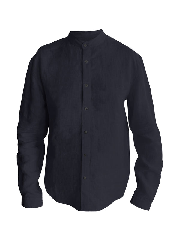 Denis-Colomb-Lifestyle - Linen-Raj-Button-Down-Shirt