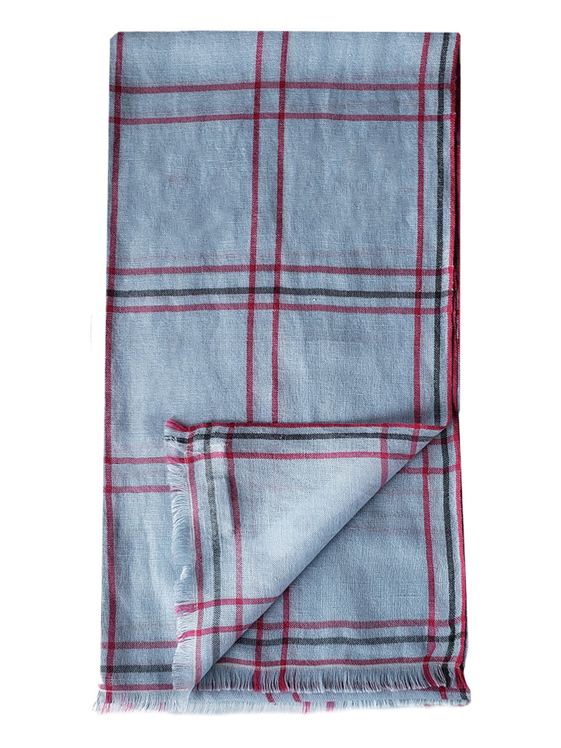 Mandalay Plaid Stole