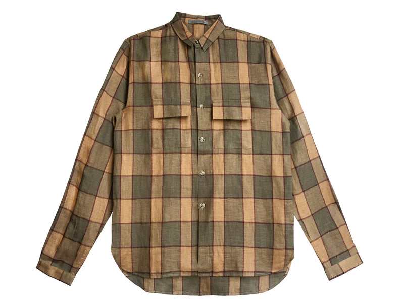 Men's Gaucho Plaid Shirt - denis-colomb-lifestyle