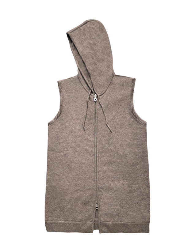 Sleeveless Hoodie - Denis Colomb Lifestyle
