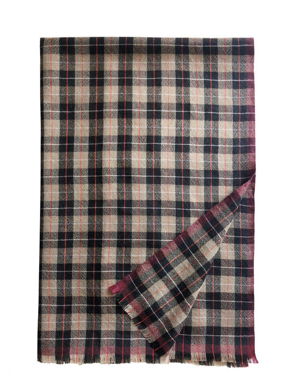 Mera Plaid Stole - denis-colomb-lifestyle