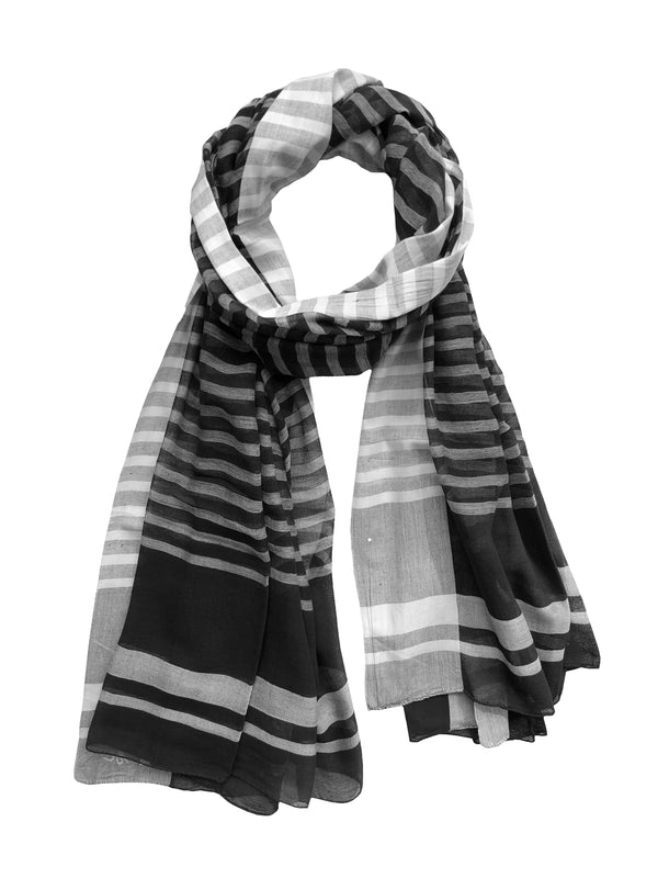 Mousson Stripes Large Shawl - denis-colomb-lifestyle