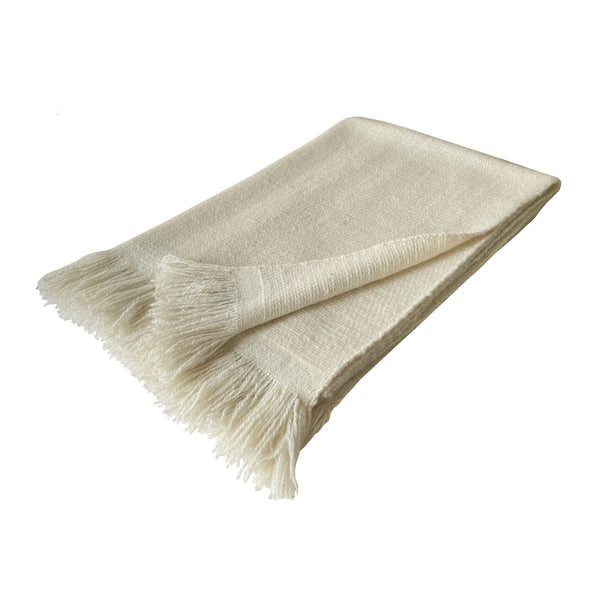 Denis-Colomb-Lifestyle - Cashmere-Natural-Hanspun-Stole