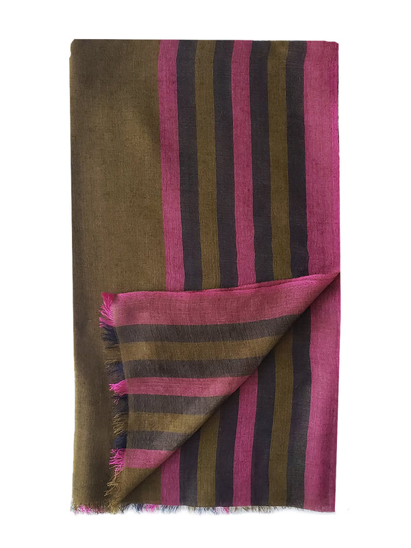 Rangoon Stripe Shawl