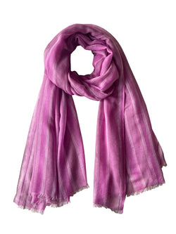 Denis-Colomb-Lifestyle - Cashmere-Silk-Sayan-Stripes-Shawl