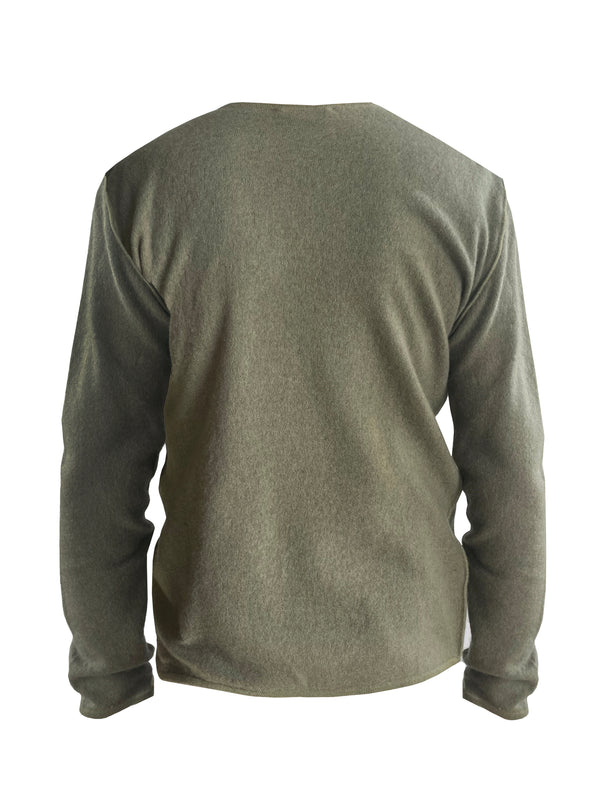 Denis-Colomb-Lifestyle - Cashmere-Fuzzy-Feutre-Crewneck-Sweater