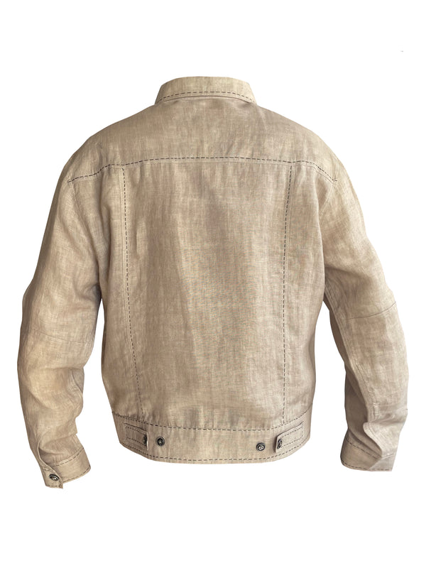 Denis-Colomb-Lifestyle - Linen-Safari-Jacket