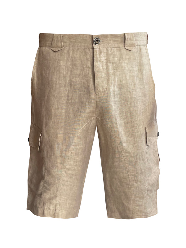 Denis-Colomb-Lifestyle - Linen-Safari-Shorts