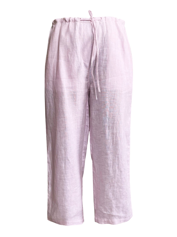 Denis-Colomb-Lifestyle - Linen-Globetrotter-Pants
