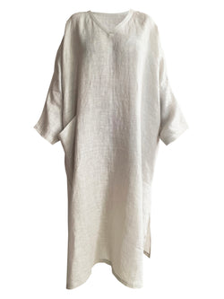 Denis-Colomb-Lifestyle - Linen-Tunic-Dress