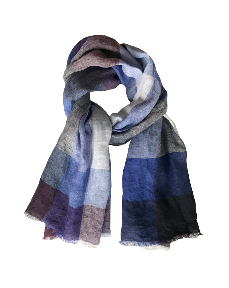 Sahara Checks Shawl - denis-colomb-lifestyle