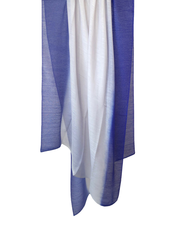 Silky Cloud Dip Dye Shawl - denis-colomb-lifestyle