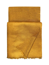 Toosh Lisse Shawl Golden Brown Fold