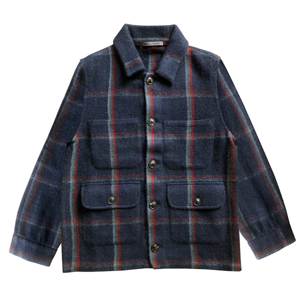 Denis Colomb Lifestyle - Camel Hair Navy Charcoal Bleu Gris Tibetan Red Monk Gaucho Jacket