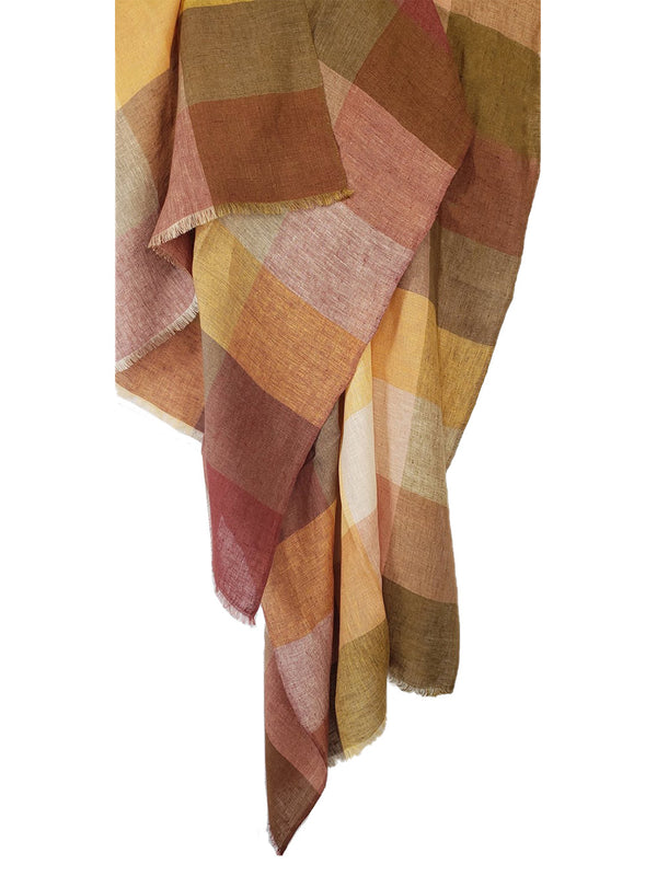 Sahara Checks Shawl