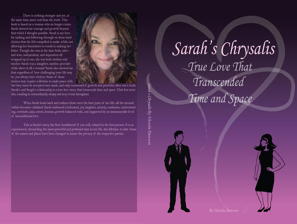 SARAH'S CHRYSALIS IS NOW PUBLISHED