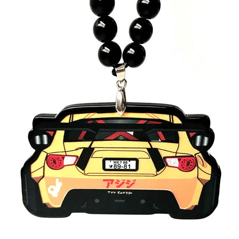 GT86 Pendant Yellow
