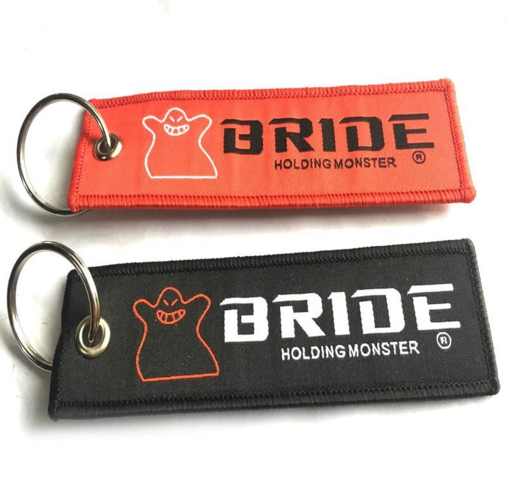 BRIDE Holding Monster Keychain