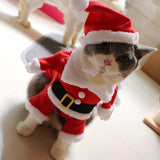 Christmas Party Santa Claus Pet Costume W12890