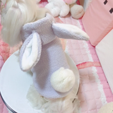 Pink/Purple Kawaii Bunny Pompon Pet Costume W12928
