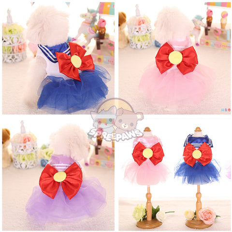 Sailor Moon Fluffy Tutu Pet Clothes W12801