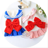 Sailor Moon Unifom Cosplay Pet Clothes W12783