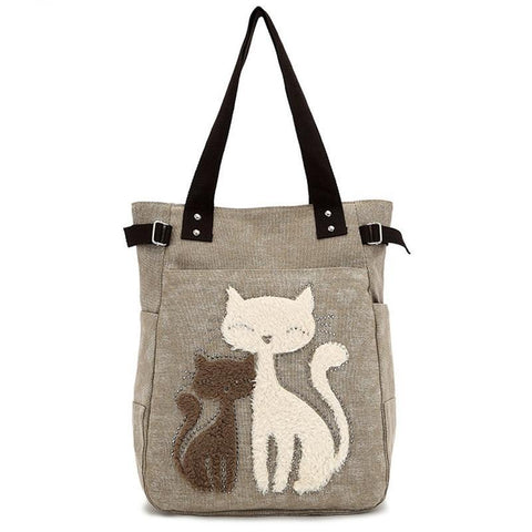 Cat Mother Travel Shoulder Bag