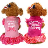 Mommy Little Love Angle Dress