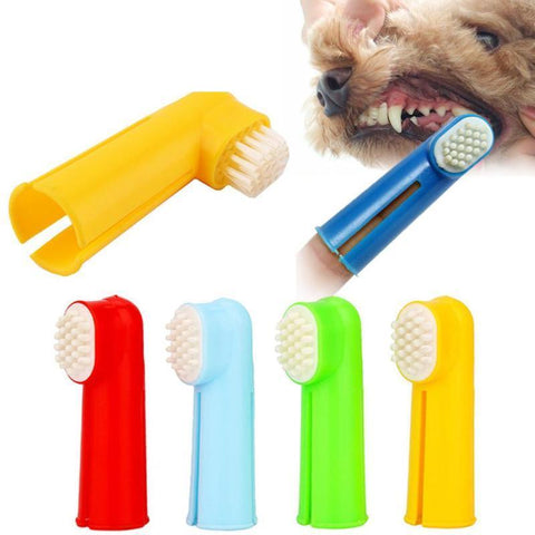 Dog & Cat Finger Toothbrush - 2Pcs