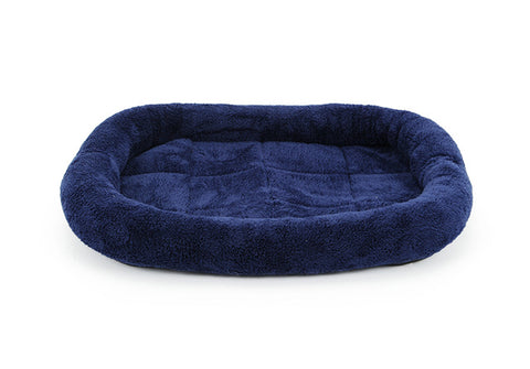 Solid Reversible Dog Bed