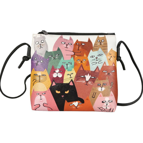 Cat Family Messenger Bag