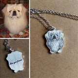 925 Silver Custom Pet Necklace