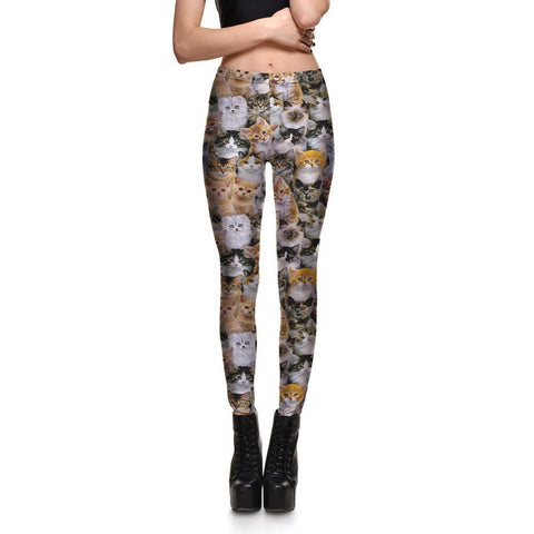 Clowder of Cats Leggings
