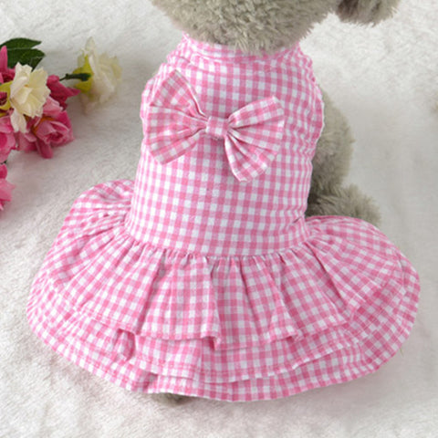 Carla Plaid Dog Dress