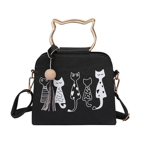 Cat Rabbit Patter Pattern Shoulder Crossbody Bag