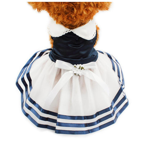 Stripes  Skirt For Dogs Dress