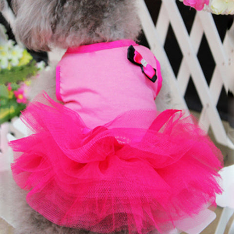 Pet Dog Skirt Princess Tutu Dress