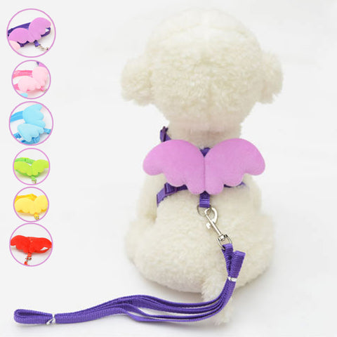 Little Angel Wings Pet Chain  Harness for Dogs & Cats