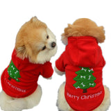 Christmas Pet Puppy Dog Clothes Santa Claus Costume